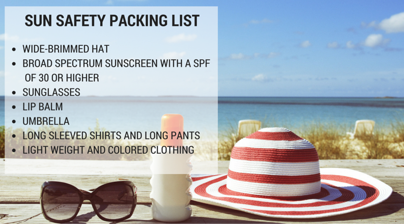 Sun Safety Packing List (1)